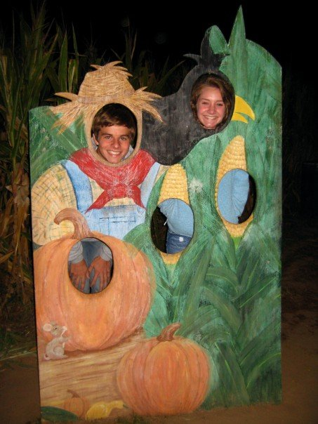 Uncle Shuck's corn maze in 2007